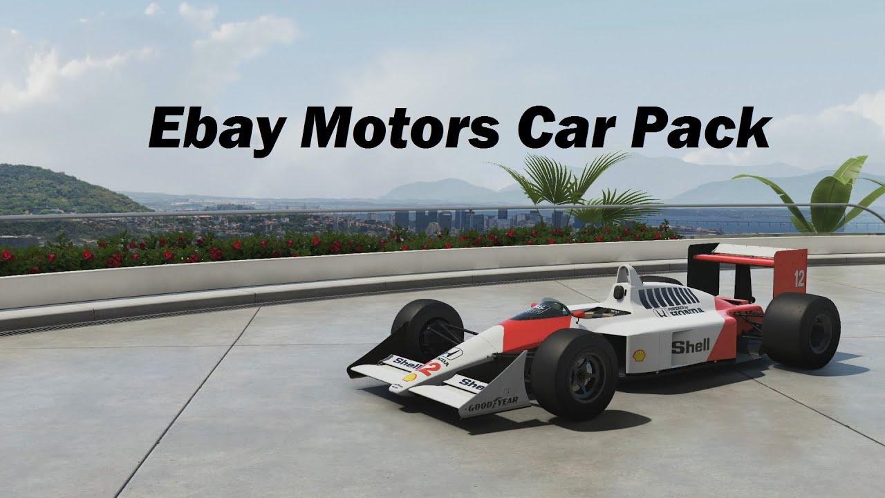 Forza Motorsport 6 Ebay Motors Car Pack 60 Fps Youtube