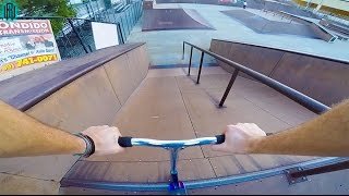 GIANT BANK TO BOX SCOOTER TRICKS!