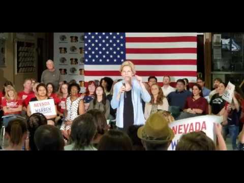 Elizabeth Warren Speaks with Nevada Democrats at Bonanza High School in Las Vegas(2)