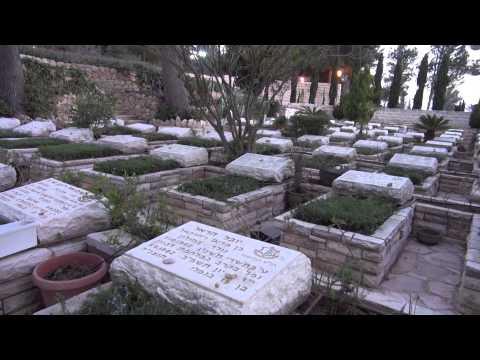 Part 3 of B'nai B'rith Live Tour at Mount Herzl,  Jerusalem
