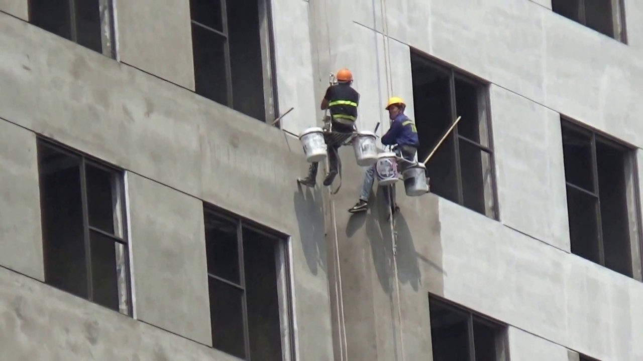 Đây là cách người Việt sơn tường nhà cao tầng