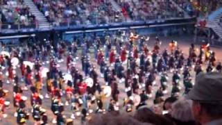 Massed Pipes and Drums - Edinburgh Military Tattoo 2009