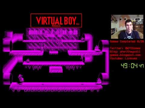 Virtual Boy Mania: #1 Mario Clash - 1 / 2
