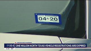1 million North Texans need to get vehicle registration renewed before COVID waiver ends in April