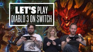 Let's Play Diablo 3 on Switch   TOADS FOR DAYS MATE