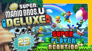 🔴 NEW SUPER MARIO BROS. U DELUXE 🌰 #23: Live Reaktion auf freaky Superplays & 1-Up-Tricks [ENDE]