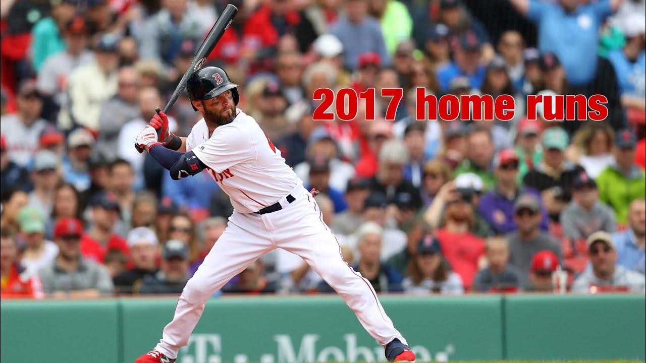 Dustin Pedroia 2017 home runs