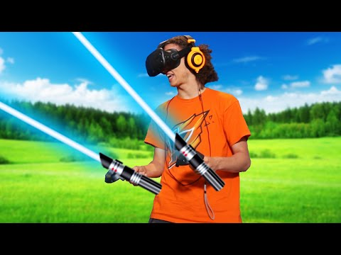 STAR WARS IN VIRTUAL REALITY! (HTC VIVE)