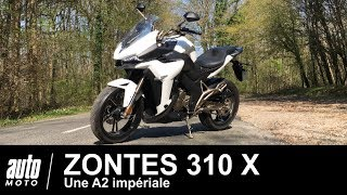 Zontes 310 X Une A2 impériale à 4690 € ESSAI POV Auto-Moto.com