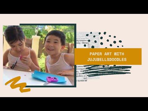Toy Worm Race Game | Paper Art | VLOG031 | Jujubellsdoodles |