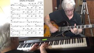 Stompin' At The Savoy - jazz guitar & piano cover ( Benny Goodman ) Yvan Jacques