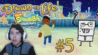 Drawn to Life: SpongeBob SquarePants Edition - Part 5 Ending Playthrough - Space: Asteroid Battle