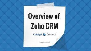 Overview of Zoho Settings