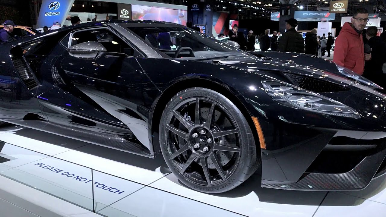 Presenting  Ford Gt Competition Series In Liquid Blue Nyias