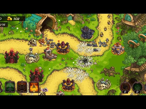 Repeat ⚔Vengeance all boss battle and story - Kingdom Rush