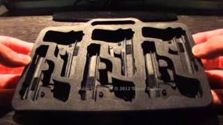 freeze novelty mini hand gun ice cube mold tray review