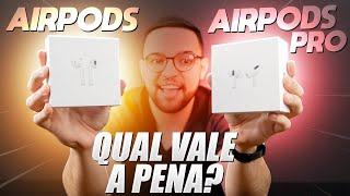 """AIRPODS PRO ou AIRPODS """"NORMAL""""? Qual escolher?"""