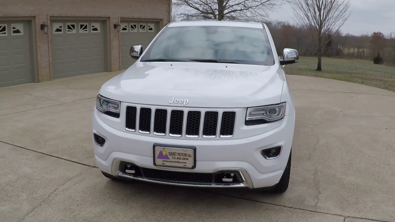 WEST TN 2015 JEEP GRAND CHEROKEE OVERLAND FOR SALE INFO WWW SUNSETMOTORS COM