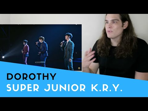 Voice Teacher Reacts to Super Junior K.R.Y. Phonograph in Seoul - Dorothy