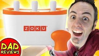 POPSICLE MAKER FOR KIDS | Zoku Popsicle Maker Review