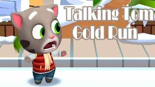 Talking Tom Gold Run - Outfit7 Limited Snow Ride Day 10 Walkthrough