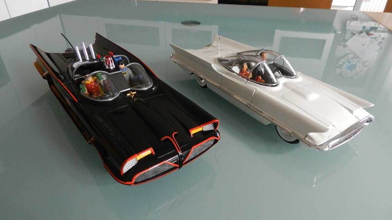 Batmobile And Lincoln Futura Tutorial Youtube
