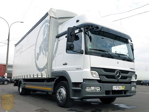 Мерседес Бенц Атего 1229 продажа грузовика из Германии