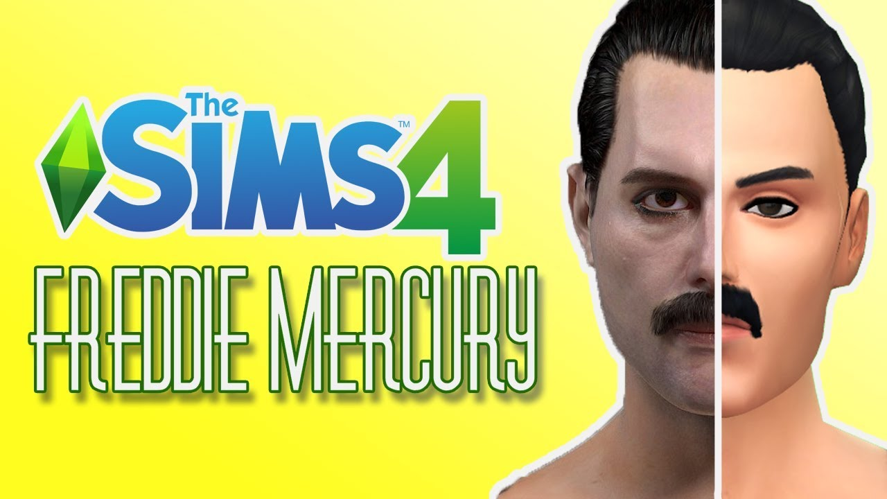 【the Sims 4 Cas】queen Freddie Mercury Cc Links Dl Youtube