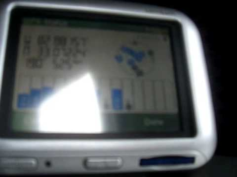 TomTom Go 300 From the Sky - YouTube