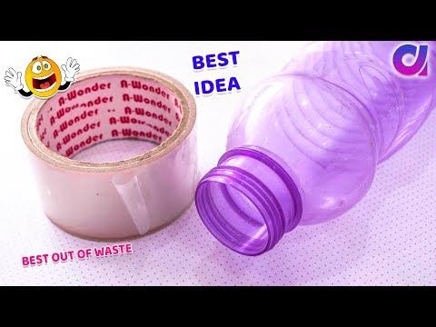 Best out of waste plastic bottle craft ideas | DIY ART & CRAFT | Artkala 509