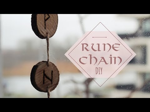 DIY │ rune chain for protection