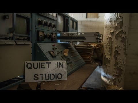 Historic abandoned broadcast station (equipment intact and left behind)