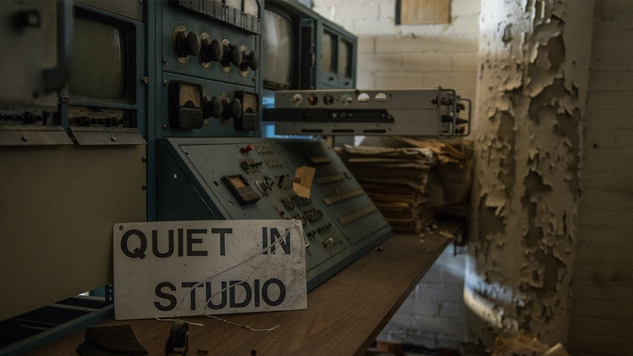 Historic Abandoned Broadcast Station Equipment Intact And Left Power Relay Urbex Behind