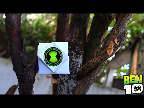How to make a Ben 10 Watch by using Paper ONLY!