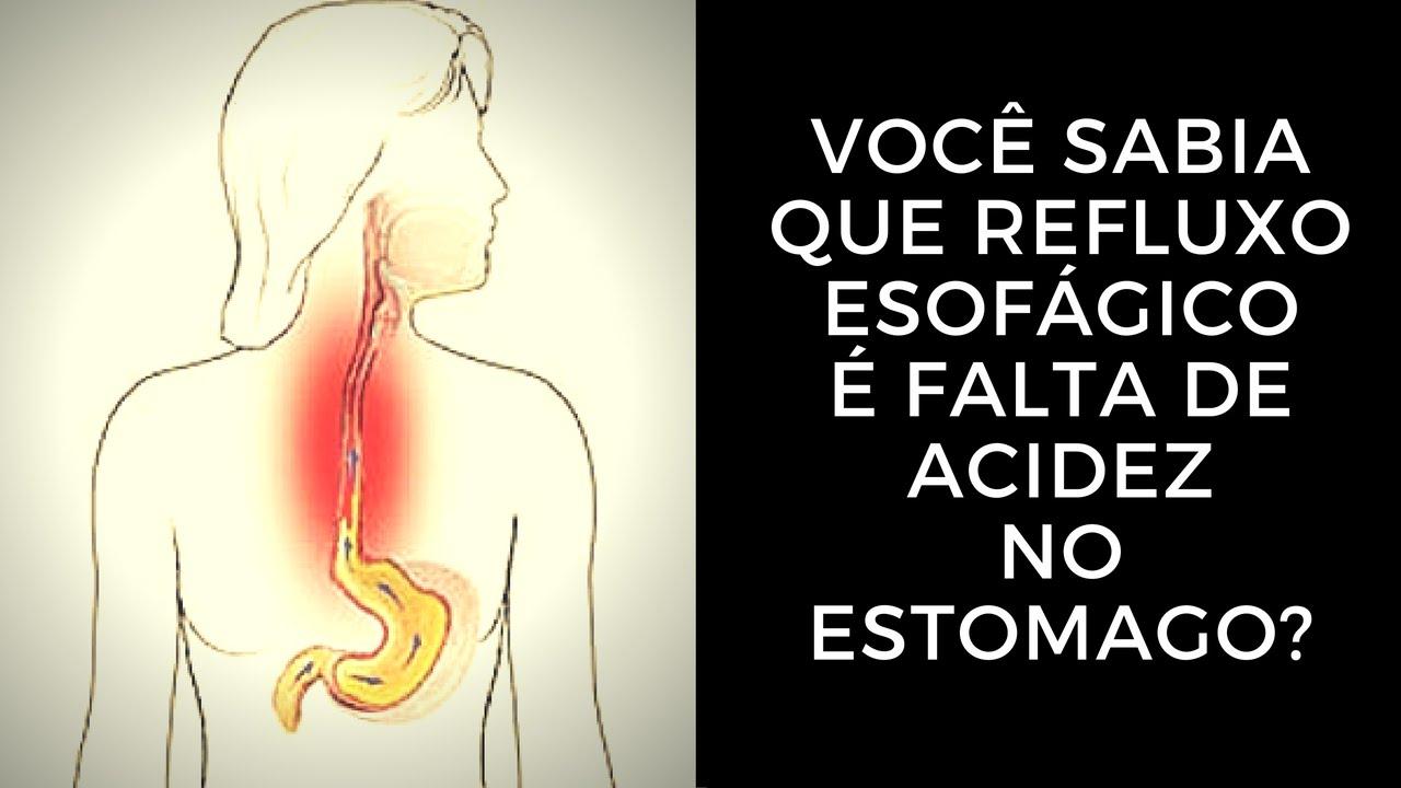 sintomas da acidez no estomago