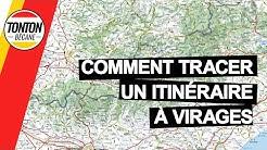 COMMENT TRACER UN ITINÉRAIRE À VIRAGES | Tonton Bécane
