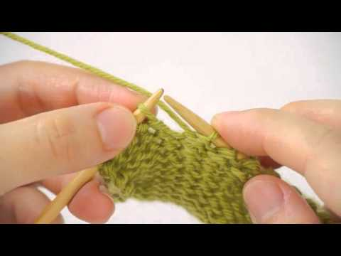 Episode 1 Wrap Turn Knitting Tutorial Short Row Knitting