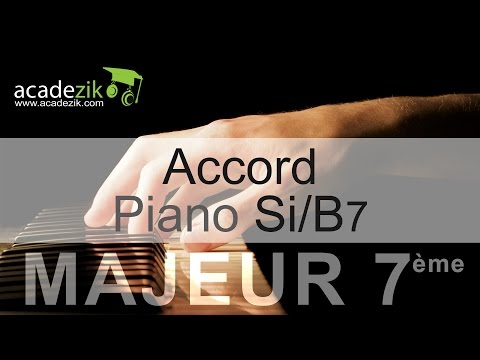 How to Play a B7 Chord on Piano 2016-12-27