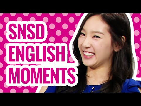 13 BEST Moments: Girls' Generation (SNSD) Speaking English l @Soshified