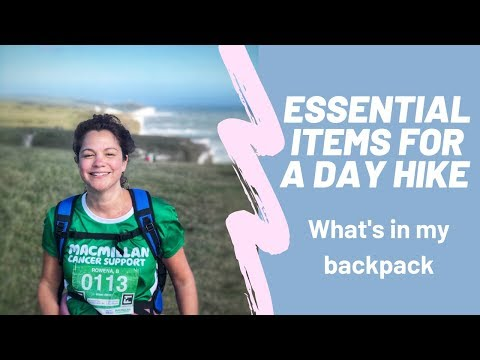 Essential Items For A Day Hike | What's In My Backpack