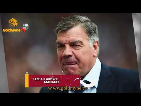 SAM ALLARDYCE RESIGNS AS CRYSTAL PALACE MANAGER AFTER FIVE MONTHS