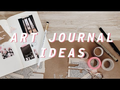 10 Creative Art Journal Ideas