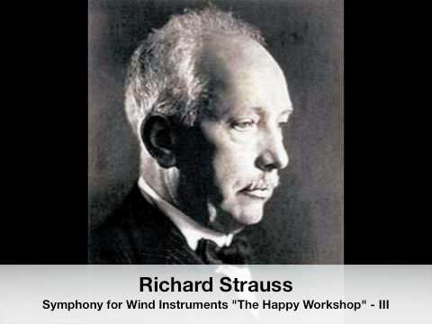"Richard Strauss: Symphony For Wind Instruments ""The Happy Workshop"" - Menuet (III)"