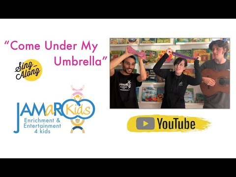 Come Under My Umbrella by JAMaROO Kids (Children's Song)