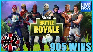 FORTNITE BATTLE ROYALE - REWARDS FROM EPIC - 906 WINS - (PS4 PRO) Full HD