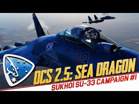 DCS World 2.5: Sea Dragon (SU-33 campaign #1)