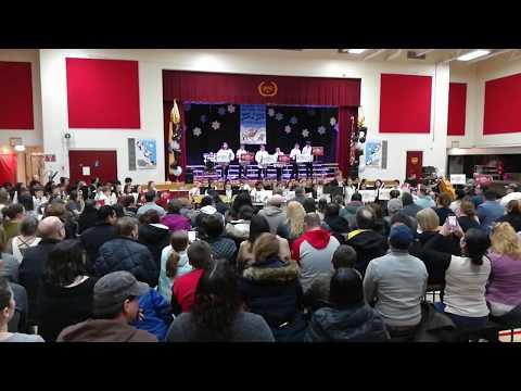 4th & 5th graders Lenox School 2019 instrument winter concert. (part2)