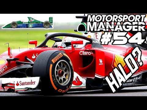 HALO AB 2018 IN DER F1? - Lets Play MOTORSPORT MANAGER F1 2017 MOD Deutsch Gameplay German #54