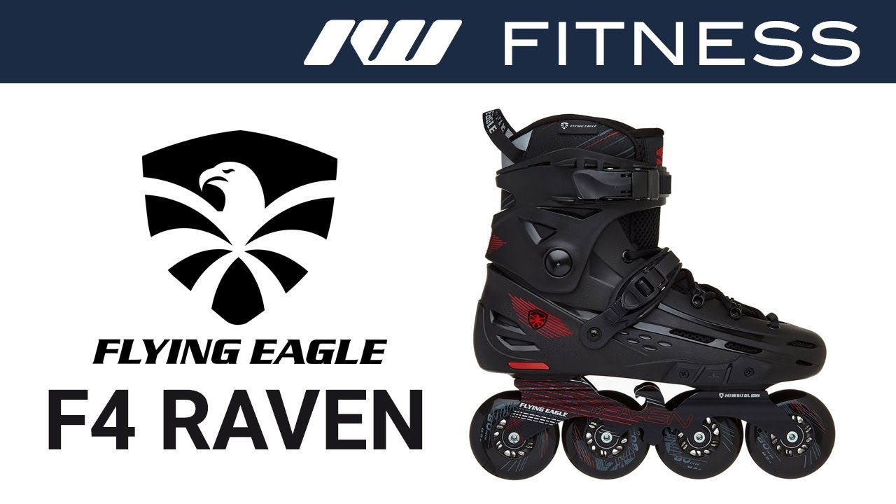9c194f6eda1ea0 Flying Eagle F4 Raven Skates - YouTube