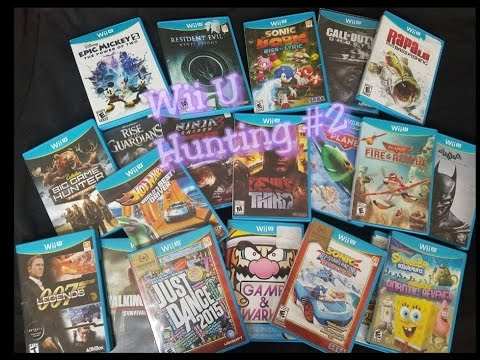 Nintendo Wii U Collecting 2 Ultra Rare Wii U Games